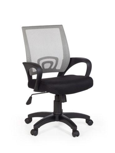 chaise de bureau RIVOLI chaise de bureau gris avec chaise de bureau d'accoudoirs des jeunes 1