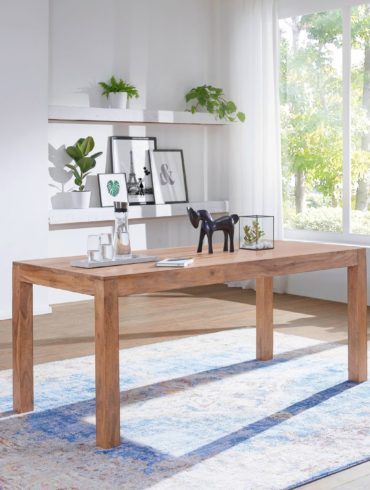 en REPA 180 à 80 x manger cm table 76 Sheesham rustique x KJFcTl31
