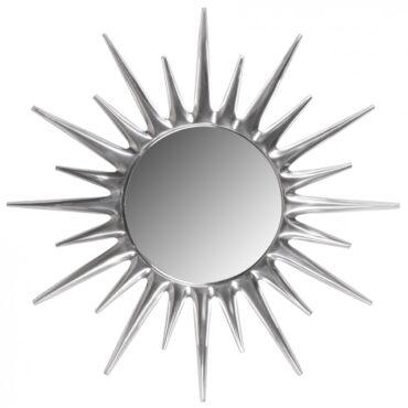 38933-Wohnling-Deko-Wandspiegel-Sunrise-Silber