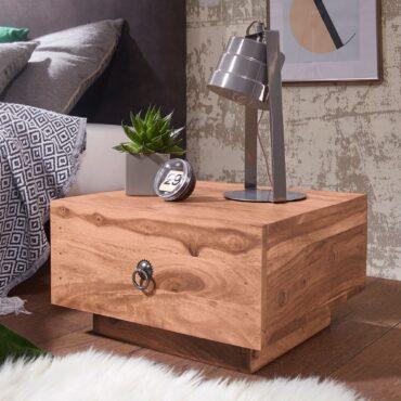 40328-WOHNLING-Design-Nachttisch-MUMBAI-Massiv-Holz