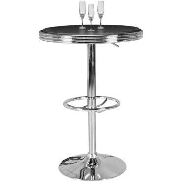 41622-WOHNLING-American-Diner-Bartisch-ELVIS-rund
