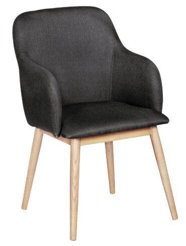 42065-WOHNLING-Retro-Esszimmerstuhl-LIMA-Anthrazit-Polsterstuhl-Stoff-Bezug-Rueckenlehne-Design-Kuechen-Stuhl-Armlehne-gepolstert-Schalensitz-Stuhl-Esszimmer-Sitzmoebel-classic-esstischs