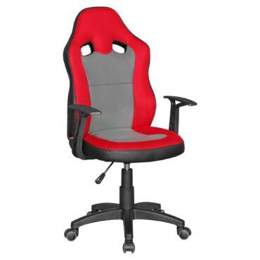 43596-AMSTYLE-Schreibtischstuhl-Speedy-rot-grau-SPM
