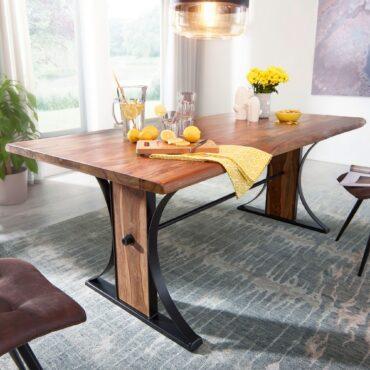 47205-WOHNLING-Design-Esszimmertisch-WL5-566-Massiv-200×100-cm-Holztisch-Sheesham-Landhaus-Stil-Tisch-mit-Baumkante-Massivholztisch-Gross-Baumkantentisch-Industrial-Designer-Bau_1