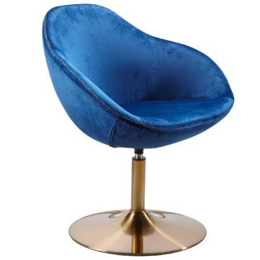 48685-WOHNLING-Loungesessel-SARIN-Stoff-Blau-Base