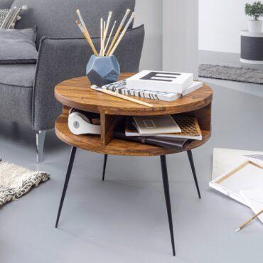 51998-WOHNLING-Couchtisch-Sheesham-Massivholz-Metall-60x45x60-cm-Tisch-Wohnzimmer-Design-Beistelltisch-mit-Ablage-Kleiner-Wohnzimmertisch-Rund-Grau-orientalisch-er-coutschtisch-st_1
