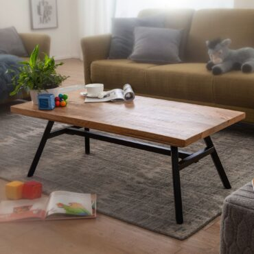 52012-WOHNLING-Couchtisch-Mango-Massivholz-Metall-110x40x60-cm-Wohnzimmertisch-Tisch-Rustikal-Echtholz-und-Edelstahl-Moderner-Sofatisch-Massiv-abstelltisch-beistelltisch-braun-fue_1
