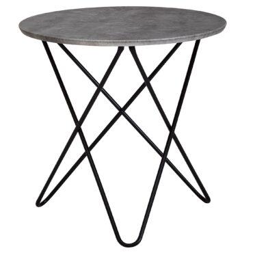 52194-Wohnling-Design-Beistelltisch-in-Mamor-Optik-Weiss-Rund-60-cm-Couchtisch-mit-Metall-schwarz-Moderner-Wohnzimmertisch-blumentischchen-sofa-tisch-kleine-loungetisch-gestell-fue