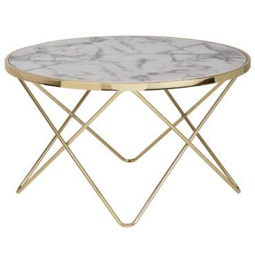 52218-Wohnling-Design-Couchtisch-Mamor-Optik-Weiss-Rund-85-cm-Gold-Metall-Gestell-Wohnzimmertisch-Beistelltisch-85-sofa-tische-coffee-tisch-e-couch-tische-marmoroptik-designer-holz