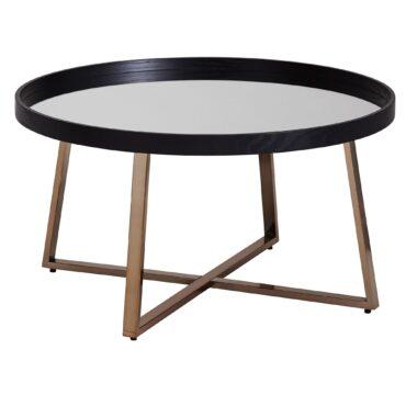 52223-Wohnling-Design-Couchtisch-Rund-78-cm-Rose-Gold-mit-Glas-Spiegel-Wohnzimmertisch-Schwarz-Metall-Beistelltisch-kaffeetisch-shisha-moderne-coffee-tisch-fernsehtisch-pflanzen-co