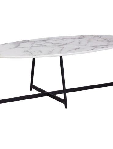 52225-Wohnling-Design-Couchtisch-Mamor-Optik-Weiss-120-x-60-cm-WL6-004-Wohnzimmertisch-Beine-Schwarz-Metall-Beistelltisch-oval-marmor-platte-marmor-tische-tisch-e-couch-tische-klein